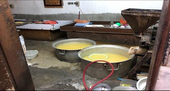ضبط مطبخ عشوائي داخل فيلا سكنية بشوقية مكة