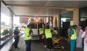 إخلاء 88 مريضا إثر اندلاع حريق بمستشفى خاص بجدة
