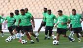 بالصور.. الأخضر ينهي استعداده للقاء اليونان غدا