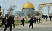 عصابات المستوطنين اليهود تقتحم ساحات المسجد الأقصى