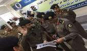 """"""" المطيري """" يزور أجهزة الأمن العام في وادي الدواسر والسليل"""
