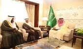 الأمير أحمد بن فهد يستقبل منسوبي جمعية إيفاء لرعاية ذوي الإعاقة بالمنطقة الشرقية