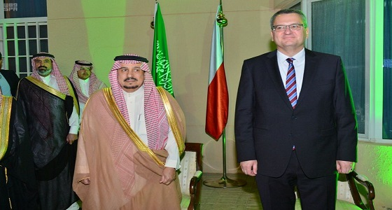 بالصور.. أمير الرياض يحضر حفل سفارة جمهورية بولندا