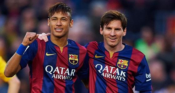""""""" ميسي """" يقف وراء رحيل نيمار عن برشلونة"""