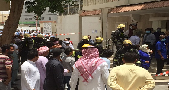اندلاع حريق بمستشفى خاص في جدة