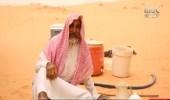 بالفيديو : عشق طفولي يدفع تسعيني للعيش وحيداً في الصحراء