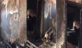 بالفيديو.. بسبب شاحن جوال.. الدفاع المدني يخمد حريقا في شقة سكنية برنية