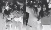 بالفيديو.. شيرين وابنة أصالة ترقصان على أغنية حسام حبيب بطريقة غريبة