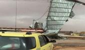 مدني الجوف يخلي عائلة مكونة من 9 أشخاص إثر الأمطار