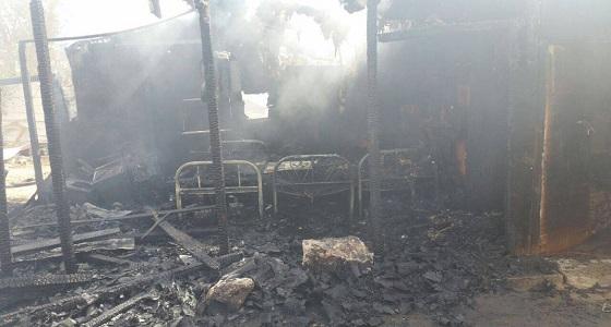 الدفاع المدني: السيطرة على حريق بأحد المنازل بالخرخير دون إصابات