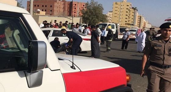 وفاة شخص وإصابة 6 آخرون بشمال شرق جدة