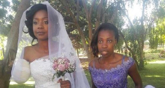 عروس تصمم على إكمال زفافها عقب التهام تمساح ذراعها الأيمن