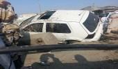 مصرع شخص وإصابة آخرين في حادث مروري بمكة