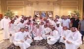 نائب أمير مكة يستقبل إدارة نادي الوحدة الجديد بمقر الإمارة