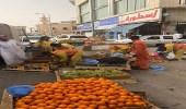 خلال حملاتها.. أمانة الرياض تصادر 10 طن من الخضار والفاكهة و65 بسطة