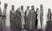 صورة نادرة للملك عبد العزيز وأمير الأحواز قبل 100 عام