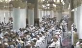"""بالفيديو.. توافد الآلاف على """" الحرمين الشريفين """" لأداء صلاة الفجر"""