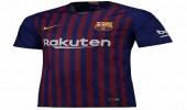 نادي برشلونة يزيح الستار عن قميصه الجديد