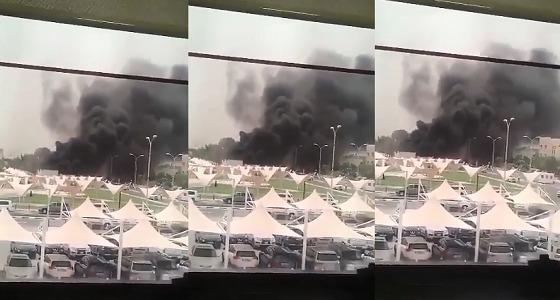 بالفيديو.. انفجار عنيف يهز جامعة قطر بالدوحة