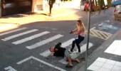 بالفيديو.. التصدي لمحاولة سرقة ببطولة نسائية
