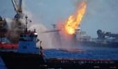 """"""" التحالف """" يفتح تحقيقا بشأن السفينة التركية المنفجرة قرب الحديدة"""