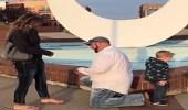 بالفيديو.. طفل يفسد زواج والدته من صديقها