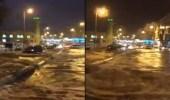 بالفيديو..لحظة هطول أمطار رعدية على شقراء شمال الرياض