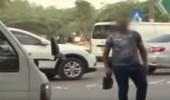 بالفيديو.. القبض على وافد عربي هدد طاقم تصوير قناة السعودية بالرياض
