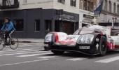 بالفيديو.. بورشة 919 هايبرد السباقية تحتفل بالنصر في شوارع نيويورك