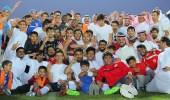 نادي عرعر يحتفل بمناسبة صعوده لدوري الدرجة الثانية لأول مرة في تاريخه