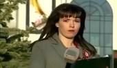 بالفيديو.. رد فعل صادم لمذيعة وجدت نفسها على الهواء مباشرة