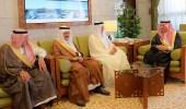 أمير الرياض يستقبل الأمين العام لمجلس التعاون لدول الخليج العربية