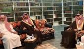 في زيارة له.. وزير الحرس الوطني يهنئ المفتي بقدوم رمضان