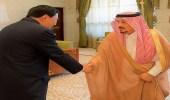 أمير الرياض يستقبل عميد السلك الدبلوماسي سفير جمهورية جيبوتي لدى المملكة