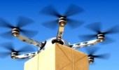 طائرة بدون طيار لإيصال السحور في دبي