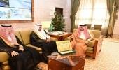 أمير الرياض يستقبل مدير جامعة المجمعة وعدد من قياداتها