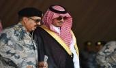 """وزير الداخلية يرعى تمرين """" القبضة 2 """" الذي نفذه حرس الحدود"""