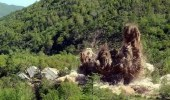 """بالفيديو.. """" بيونج يانج """" تفجر عدة مواقع نووية"""