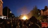 بالفيديو.. انفجار كرة نارية في وجه محتفلين بسبب الهواتف الذكية