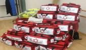 """فلسطينيون يمنعون دخول شاحنة أدوية من """" نجمة داوود الحمراء """""""