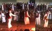 بالفيديو.. ناصر الشمراني يؤدي رقصة المزمار مع أبناء مكة