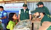 """"""" سلمان للإغاثة """" تستمر في مساعداتها الرمضانية للاجئي الروهينجا"""