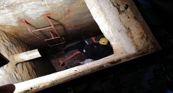 """إنقاذ عاملين اختنقا من """" أدخنة عادم ماطور """" في بلقرن"""