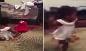 بالفيديو.. رد فعل صادم لطفلة لحظة تكلم دمية أمامها