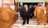 ولي العهد والرئيس اليمني يبحثان التطورات على الساحة