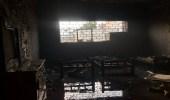 بالصور.. مدني الطائف يسيطر على حريق اندلع بسبب التماس كهربائي