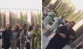 بالفيديو.. استقبال أحلام بالزفة المغربية في مراكش