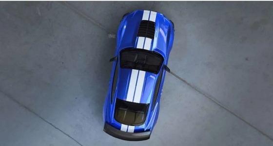 """صورة تشويقية لـ """" فورد موستانج شيلبي GT500 """" موديل 2020"""