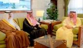 أمير الرياض يستقبل أعضاء مجلس المنطقة