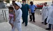 المملكة تعالج طفلة يمنية فقدت إحدى قدميها بشظية حوثية